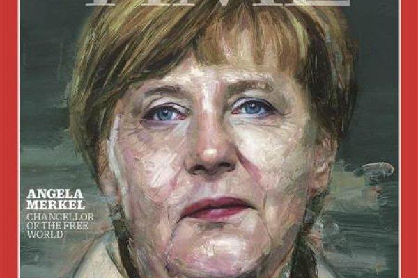 《時代》雜誌2015年風雲人物:德國總理梅克爾
