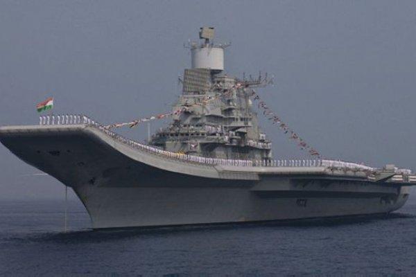 印度舉行海上閱艦式 50國艦船參加