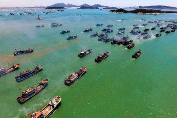 南海爭議》馬來西亞:百艘中國漁船抵近馬國水域