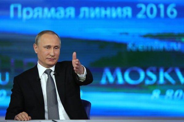 「有人想溺水,誰都救不了他」 俄羅斯總統普京參加年度連線節目 回答各式嗆辣提問