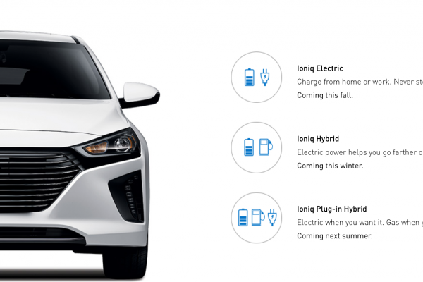 電動車大戰》現代IONIQ今秋開賣 2018年再推對決特斯拉車款
