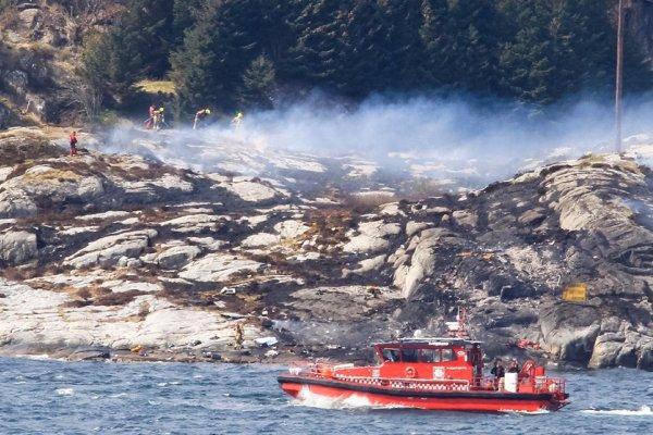 挪威直昇機墜毀海岸 機上13人全部罹難