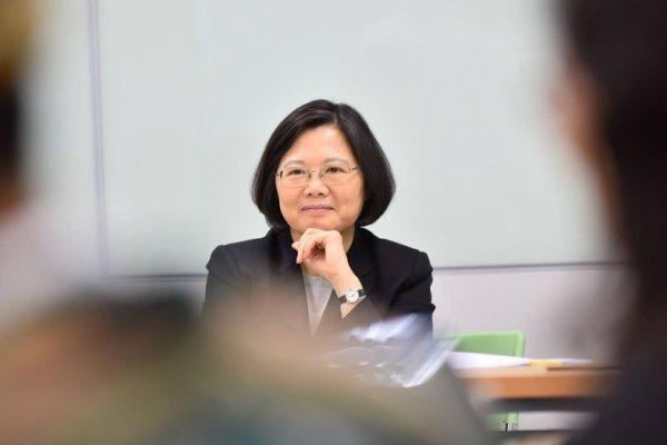 「這裡,即將由女性執政」《BBC》看蔡英文就職中華民國總統