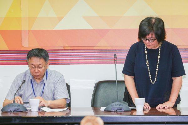 北市原民會主委陳秀惠請辭獲准 成柯市府第17位離職首長