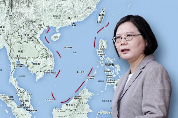 捨棄「U型線」、「固有」疆域 新政府翻修南海主權論述 撇清與中國聯手