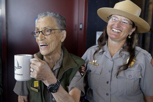 94歲的美國國家公園巡查員 重返工作崗位!索斯金:我渴望重拾規律生活