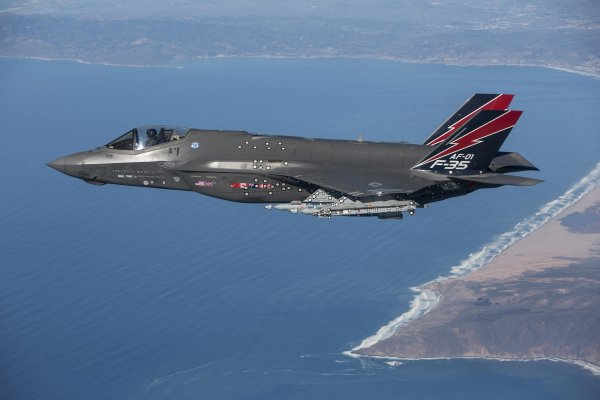 美國空軍里程碑》耗資11兆研發 F-35A終於具備初始作戰能力