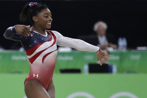 里約奧運》「黑珍珠」拜爾絲領銜 美國奧運體操女團奪金