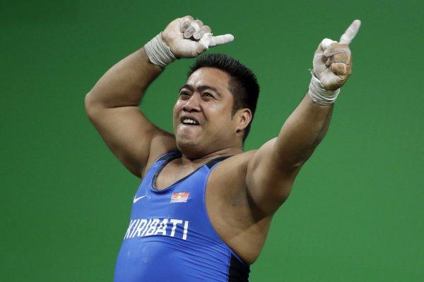 里約奧運》舉重選手舞姿風靡全場 卡托亞陶:我要讓世人認識吉里巴斯!