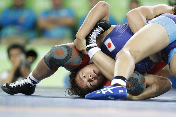 里約奧運》川井梨紗子奪女子角力63公斤級金牌 盼東京奧運再戰伊調馨