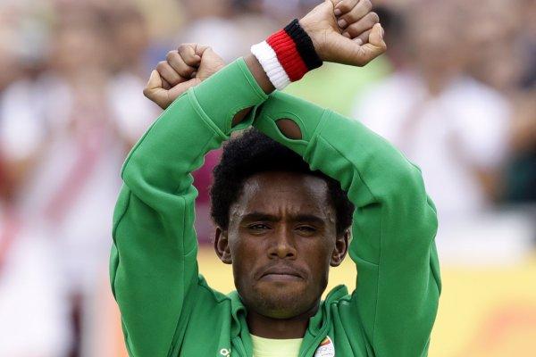 里約奧運落幕》抗議政府鎮壓示威 衣索比亞奪牌英雄恐成政治難民