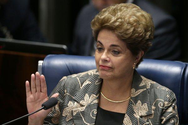 巴西首位女總統大勢已去 羅賽芙最後答辯:這是政變!