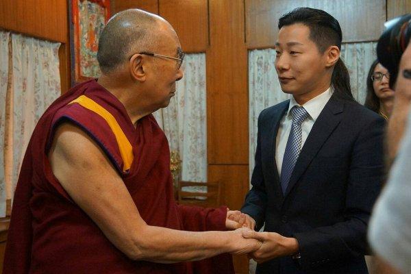 林昶佐將組「國會西藏連線」 再邀達賴喇嘛訪台