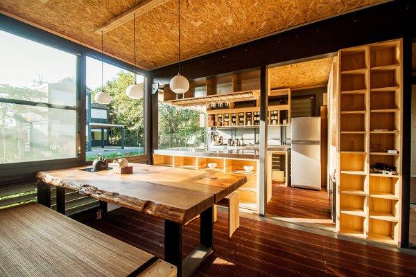3小時就能完工!資深建築師在台中打造最美小木屋,衛浴廚房一應俱全