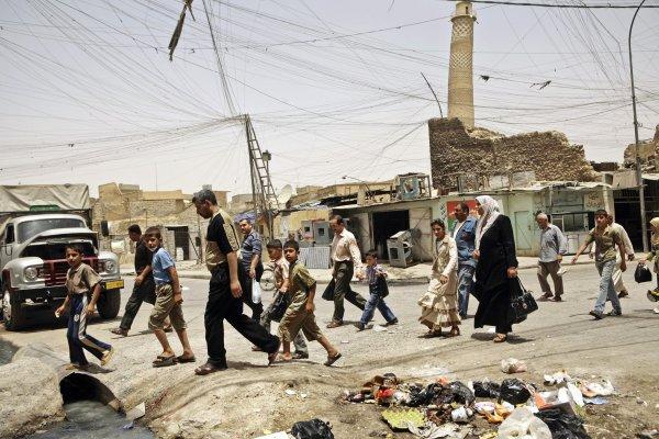 打擊伊斯蘭國》聯軍計畫強攻摩蘇爾 聯合國警告:百萬人將流離失所