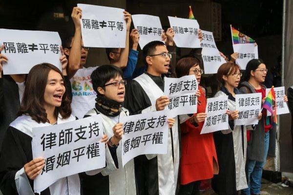反對為同婚「另立專法」律師界高呼:修正《民法》才能消除歧視!