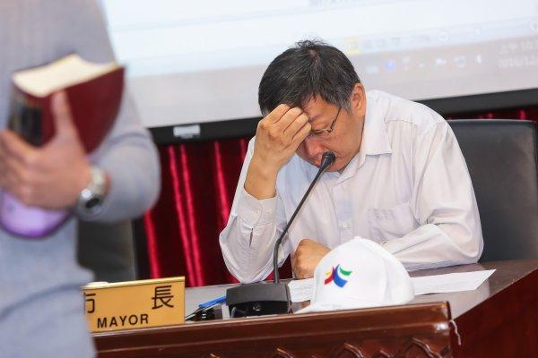 大巨蛋變「大廢蛋」滿意度探底 柯文哲:不願像前2任市長一樣妥協