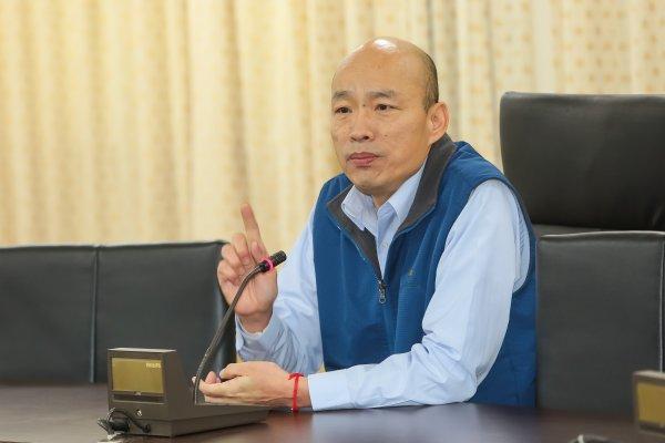 「早已不戀棧現職」 北農總經理韓國瑜今請辭