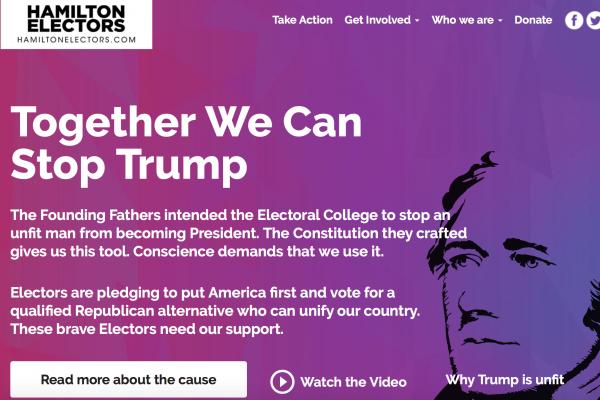 美國總統選舉「真正的投票日」到了 反川普陣營呼籲選舉人:摸著良心投票