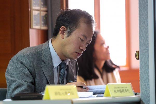 模擬憲法法庭》「蔡英文推動轉型正義的作為是零」黃丞儀呼籲總統展現政治意志