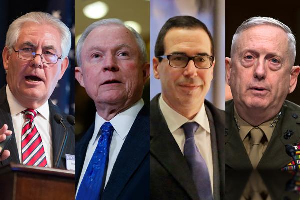 川普新政府》國務卿、財政、國防、司法4大內閣提名人選爭議大 共和黨內部都有反對聲浪
