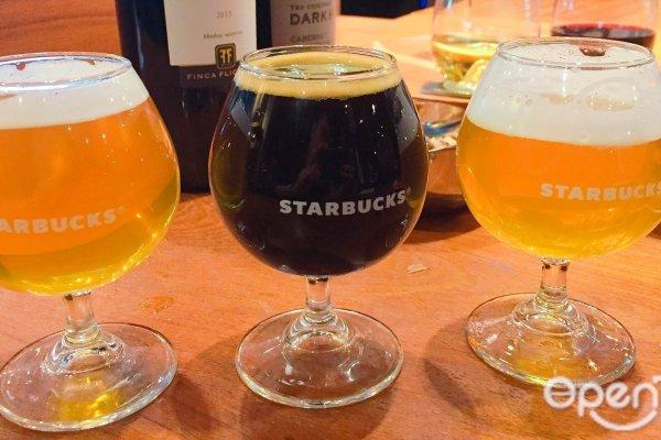 美酒加咖啡,不只喝一杯!台灣星巴克領先全球獨創「咖啡啤酒」,連美國都還喝不到