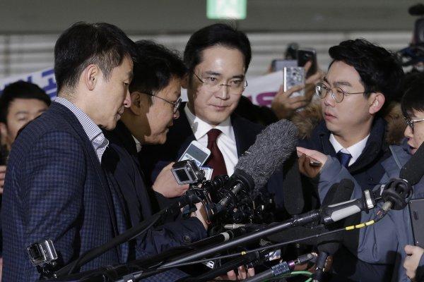 涉嫌行賄、做偽證   南韓特檢組申請逮捕三星掌門人李在鎔