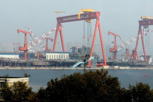 漢和防務:解放軍001A型航空母艦今年第2季下水