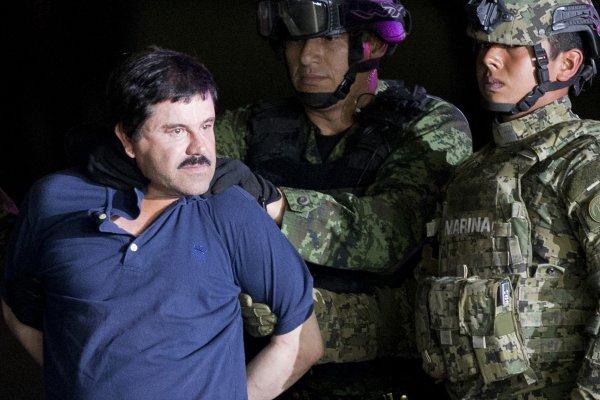 越獄2次的墨西哥世紀毒梟 「矮子」古茲曼關押紐約
