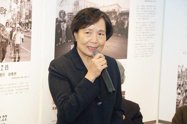 訂定言論自由日 葉菊蘭:謝謝歷史定位給鄭南榕公道