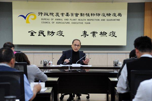 H5N6禽流感來襲 林全:未來防疫視同作戰