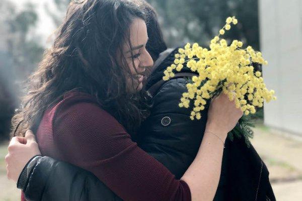 國際婦女節》一枝為義大利女人的黃艷:銀荊花