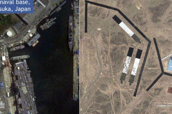 【圖輯】中國飛彈部隊以駐日美軍作為實彈射擊目標