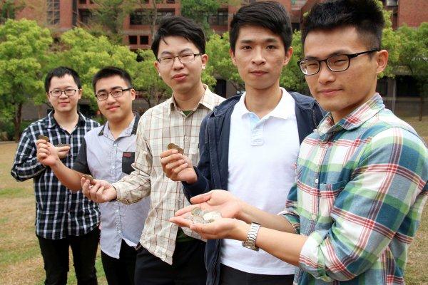 「共享撲滿」逼出銅板 中正大學學生構思零錢回收機