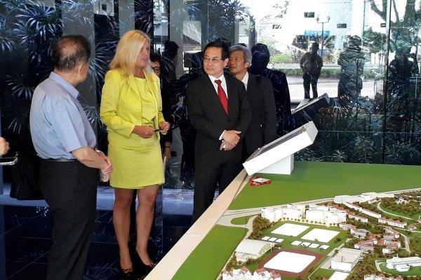 智慧城市計劃案經驗分享 嘉義市長涂醒哲參訪新加坡南洋理工大學