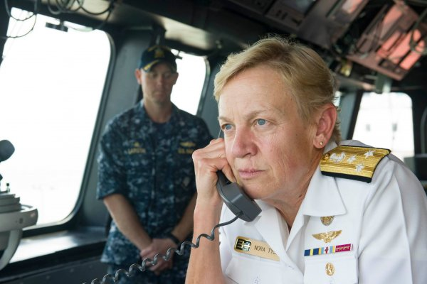 負責壓制金正恩的美軍女將就是她 指揮4個航母打擊群的第三艦隊司令—諾拉泰森中將