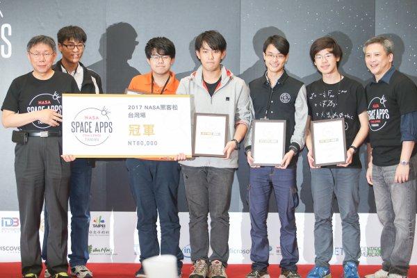 用賠率預測土石流 「NASA黑客松」台灣冠軍前進世界決賽