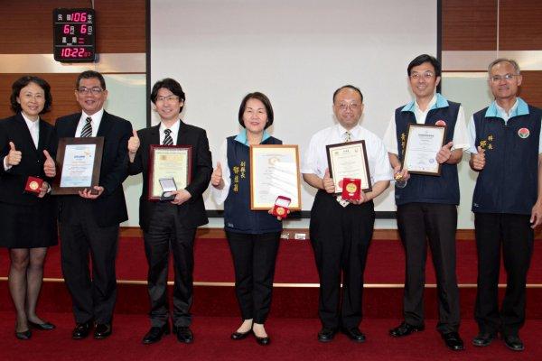 亞太創意技術學院副教授林宗新 榮獲四項國際發明大獎