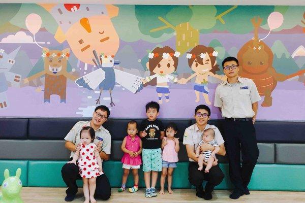 西拉雅風景區山中童話城 中埔遊客中心歡迎大家參與啟用童樂活動