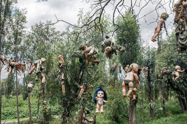 滿布斷手斷腳娃娃的森林、人骨教堂…一探全球14個最驚悚景點,處處令人發毛看傻眼