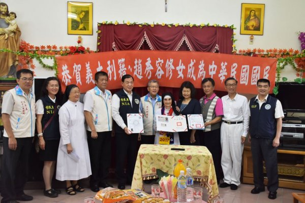 守護偏鄉半世紀 85歲義大利修女取得台灣身分證