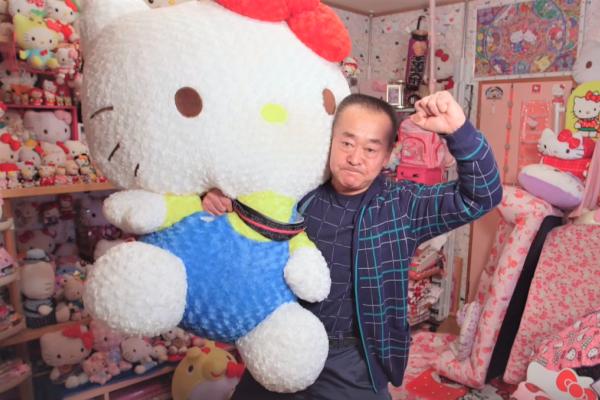 全世界收藏最多Hello Kitty的人是誰?羨煞全球小女生的...居然是鐵漢少女心的日本阿伯!
