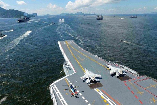 遼寧艦在台灣海峽遭美艦跟蹤?中國國防部回應:已「全程監控」