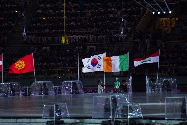 世大運開幕模擬 薩爾瓦多、科索沃、剛果無國旗進場