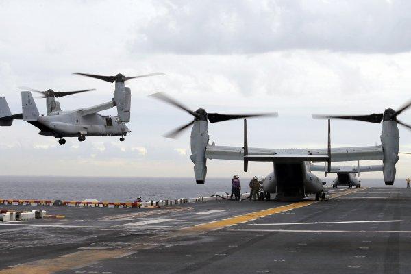 美軍陸戰隊魚鷹機澳洲外海失事,三名殉職士兵身分確認
