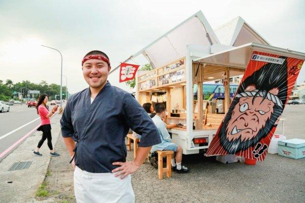 8小時燉煮、15分鐘就賣完!日本料理10年資歷主廚開餐車環島,做出最有溫度料理