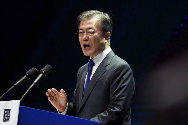「朝鮮半島絕不可再發生戰爭!」文在寅發表光復節演說 強調開戰須經南韓同意