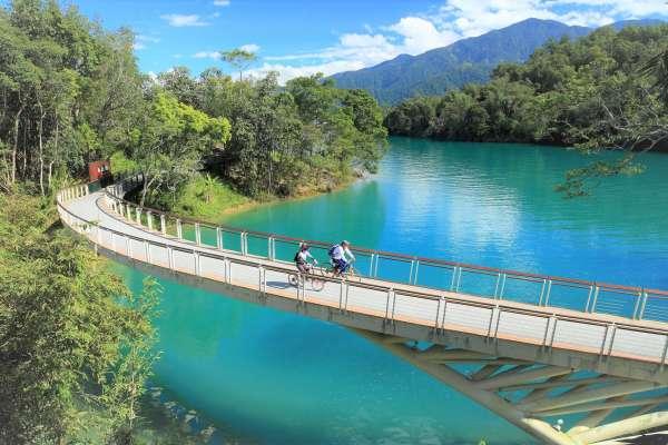 日月潭極致美景再登英媒!台灣環島自行車道入選全球12大,《衛報》讚:全島都有景點
