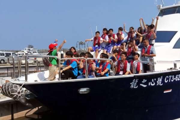 基隆學子成年禮 乘風破浪海上巡禮