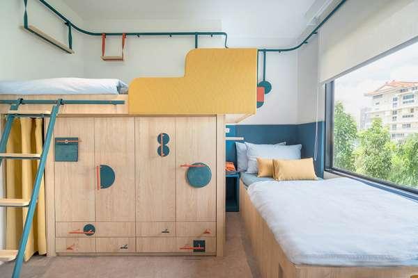 這麼美居然是學生宿舍!完善空間、超貼心設計太夢幻,看了好想直接搬進去住啊!
